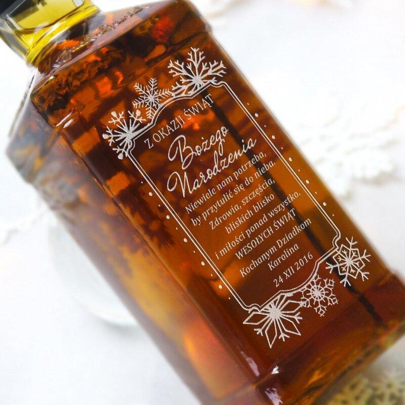 Zdjęcie produktu Christmas Jack - grawerowana whiskey na Boże Narodzenie