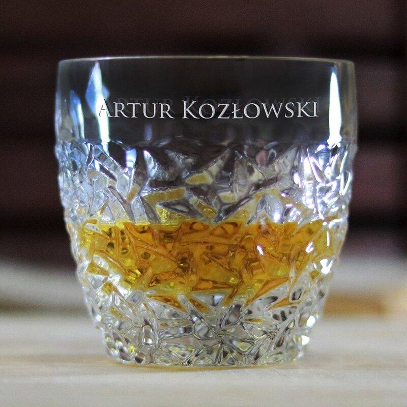 Zdjęcie produktu Crush - grawerowana szklanka do whisky z personalizacją