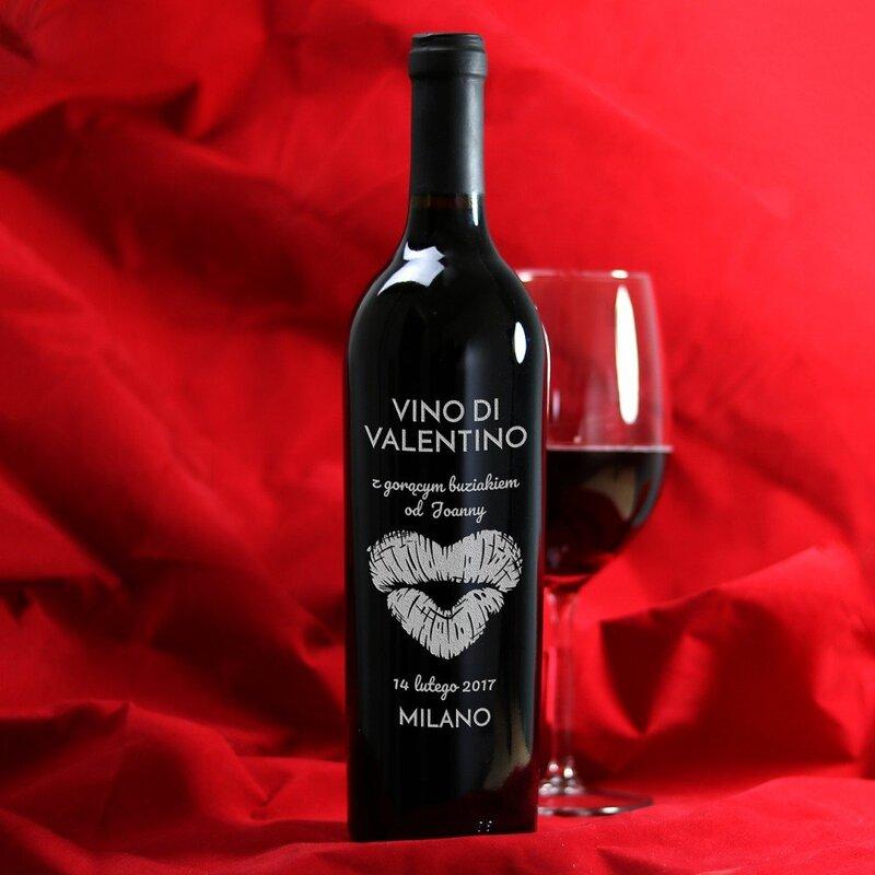 Zdjęcie produktu Vino Di Valentino - grawerowane wino dla zakochanych