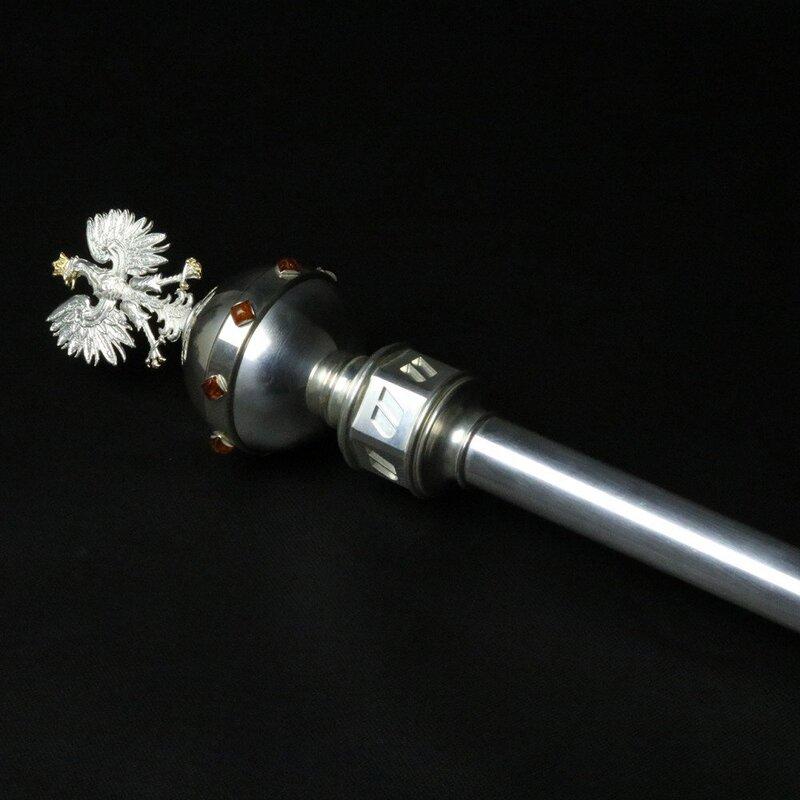 Zdjęcie produktu Berło Rektora - w całości z metalu