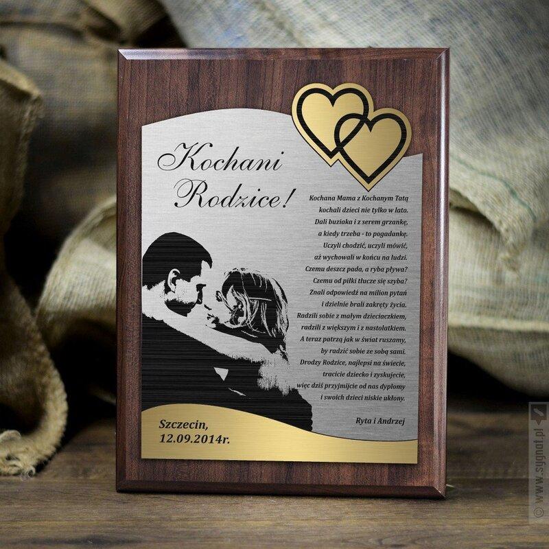 Zdjęcie produktu Podziękowanie dla Rodziców - Dyplom Ślubny
