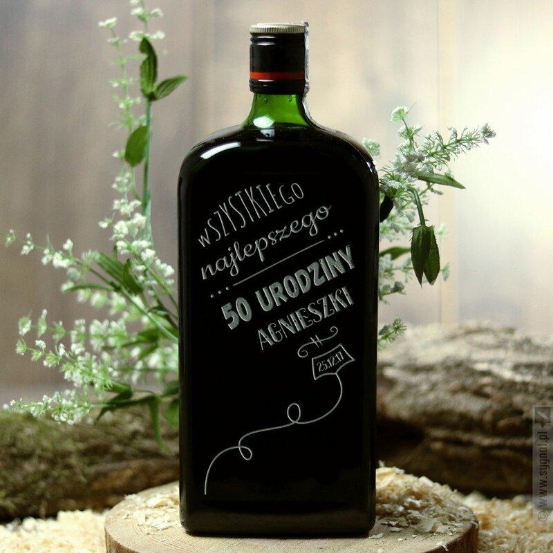Zdjęcie produktu Balon Urodzinowy - ziołowy likier Jägermeister z personalizacją