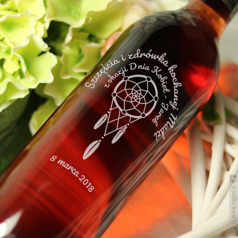 Zdjęcie produktu Łapacz Snów - grawerowane wino z personalizacją na dowolną okazję