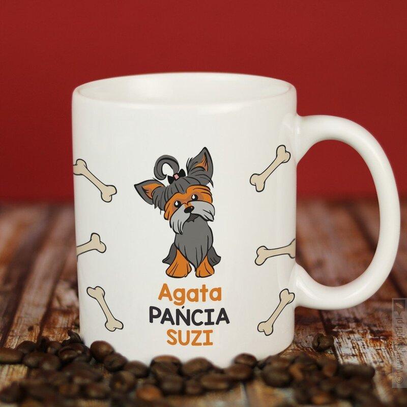 Zdjęcie produktu Yorkshire Terrier - kubek z personalizacją