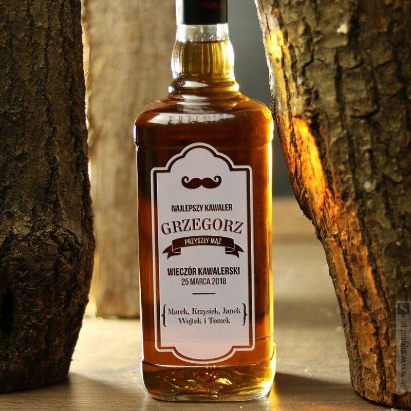 Zdjęcie produktu Najlepszy Kawaler - grawerowany Jim Beam Bourbon Whiskey