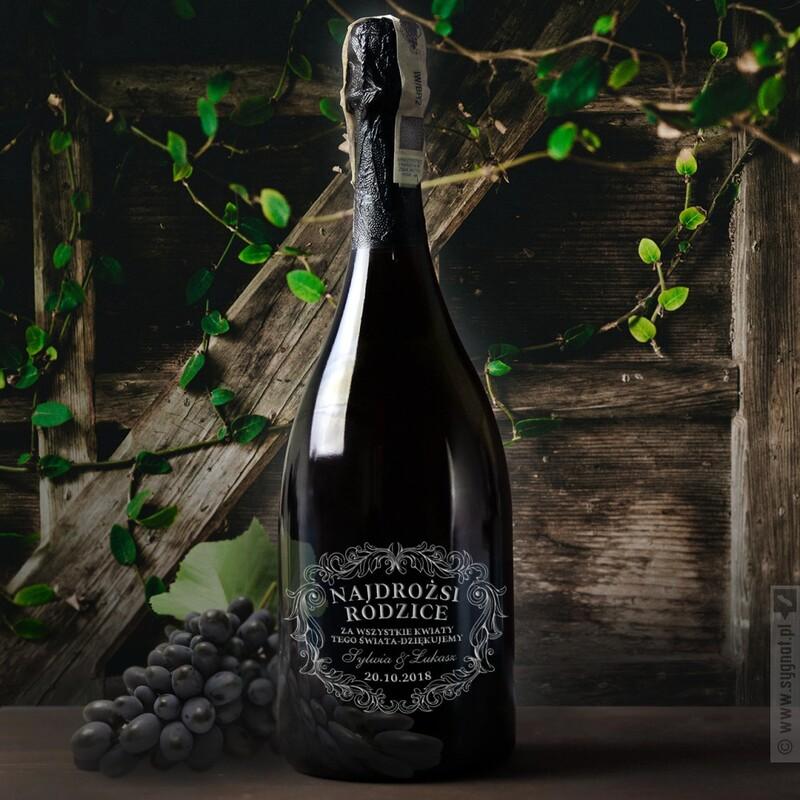 Zdjęcie produktu Grawerowany szampan Dom Pérignon z personalizacją na dowolną okazję