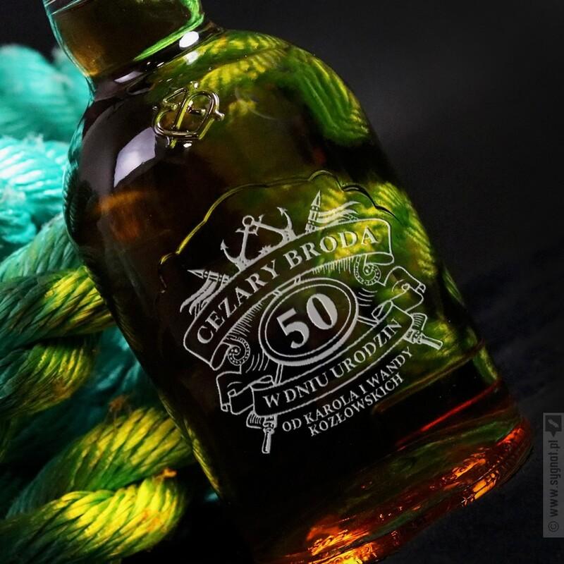 Zdjęcie produktu Szlachetne Urodziny - grawerowana whisky Chivas Regal