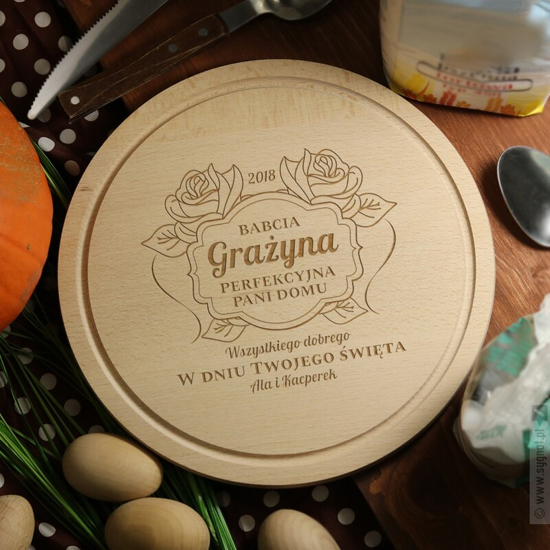 Zdjęcie produktu Deska Perfekcyjnej Pani Domu - deska do krojenia z personalizacją