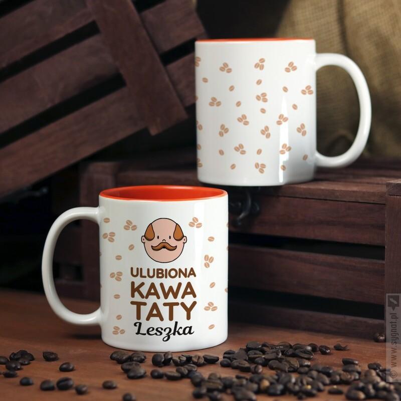 Zdjęcie produktu Ulubiona Kawa Taty - kubek z personalizacją dla taty
