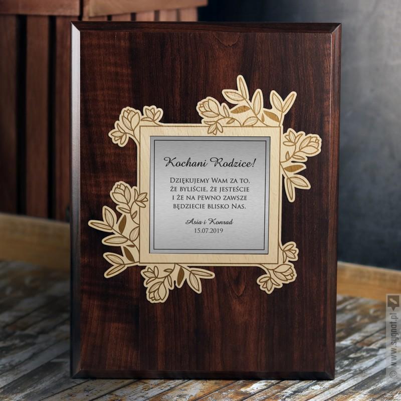 Zdjęcie produktu Podziękowanie - personalizowany dyplom dla rodziców