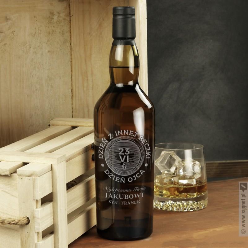 Zdjęcie produktu Dzień Ojca - grawerowana whisky z personalizacją dla Taty