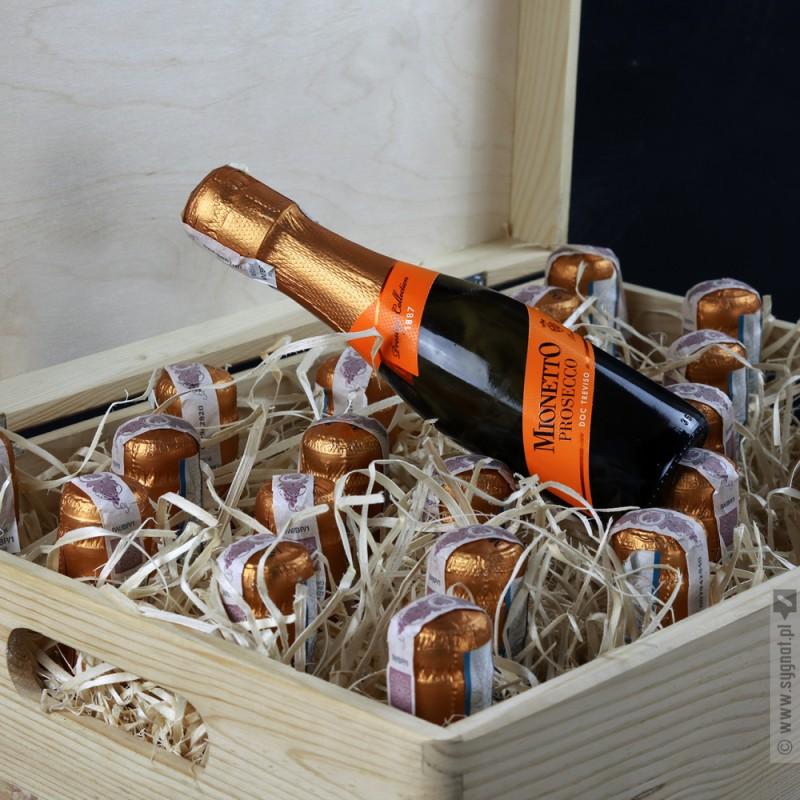 Zdjęcie produktu Bubblebox - personalizowana skrzynka z 25 buteleczkami Prosecco na urodziny
