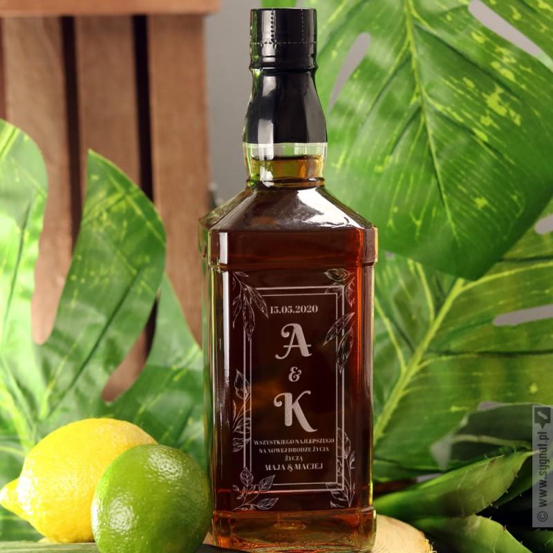 Zdjęcie produktu Tropicana - grawerowana whiskey z personalizacją na ślub