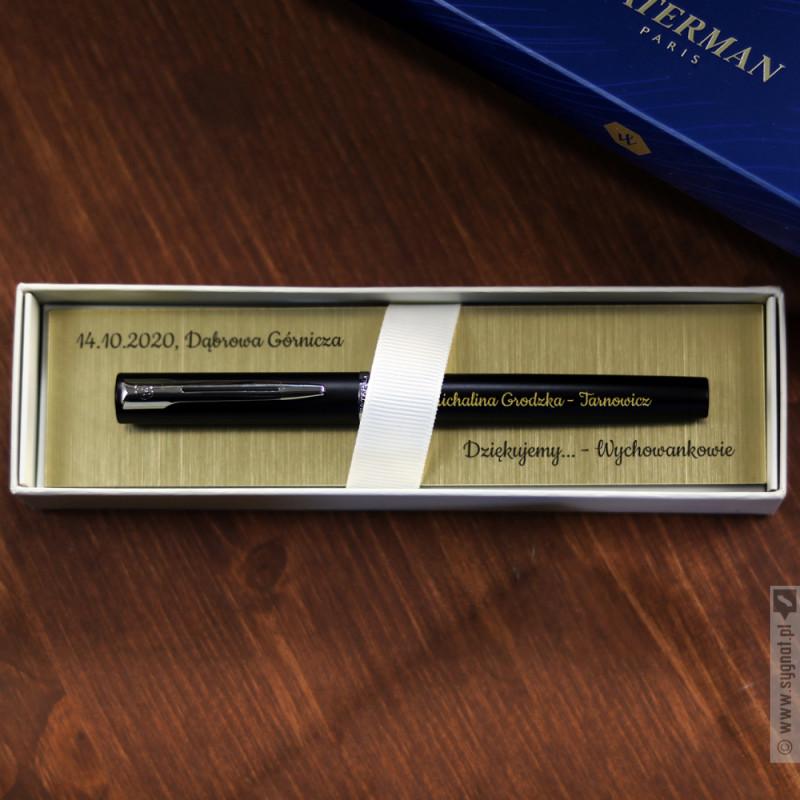 Zdjęcie produktu Grawerowane pióro Waterman z personalizacją na Dzień Nauczyciela