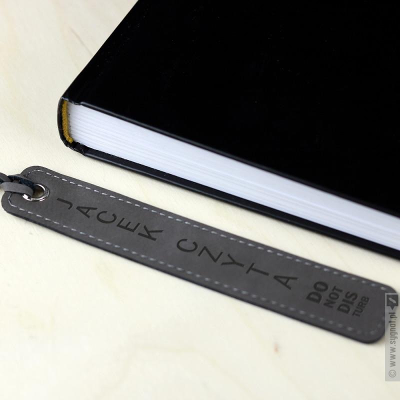 Zdjęcie produktu Do Not Disturb - grawerowana zakładka do książki