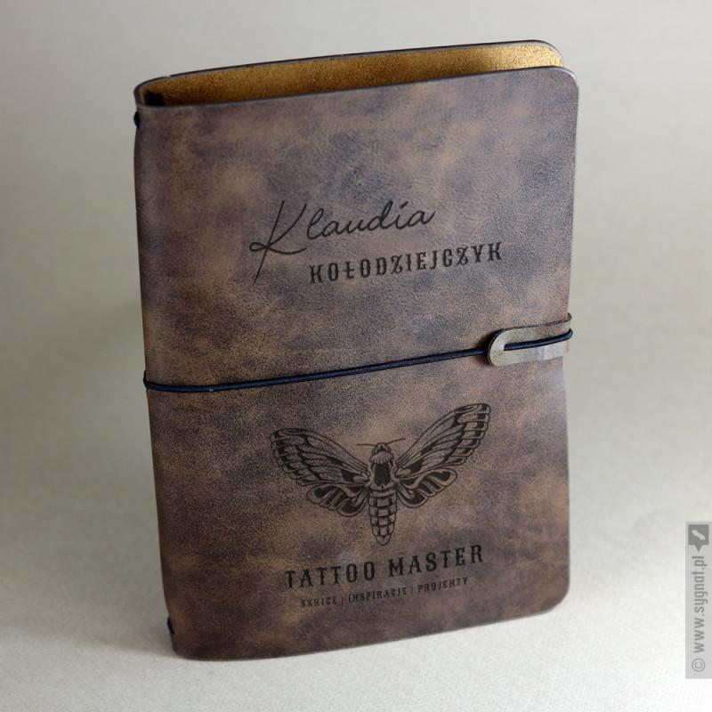 Zdjęcie produktu Tattoo Master - personalizowany szkicownik