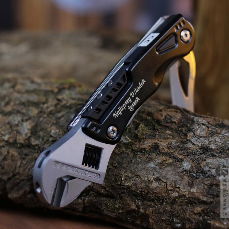Zdjęcie produktu Multitool Dziadka - grawerowane narzędzie wielofunkcyjne z personalizacją