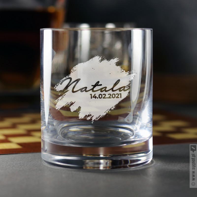 Zdjęcie produktu Blur - grawerowana szklanka z personalizacją na każdą okazję