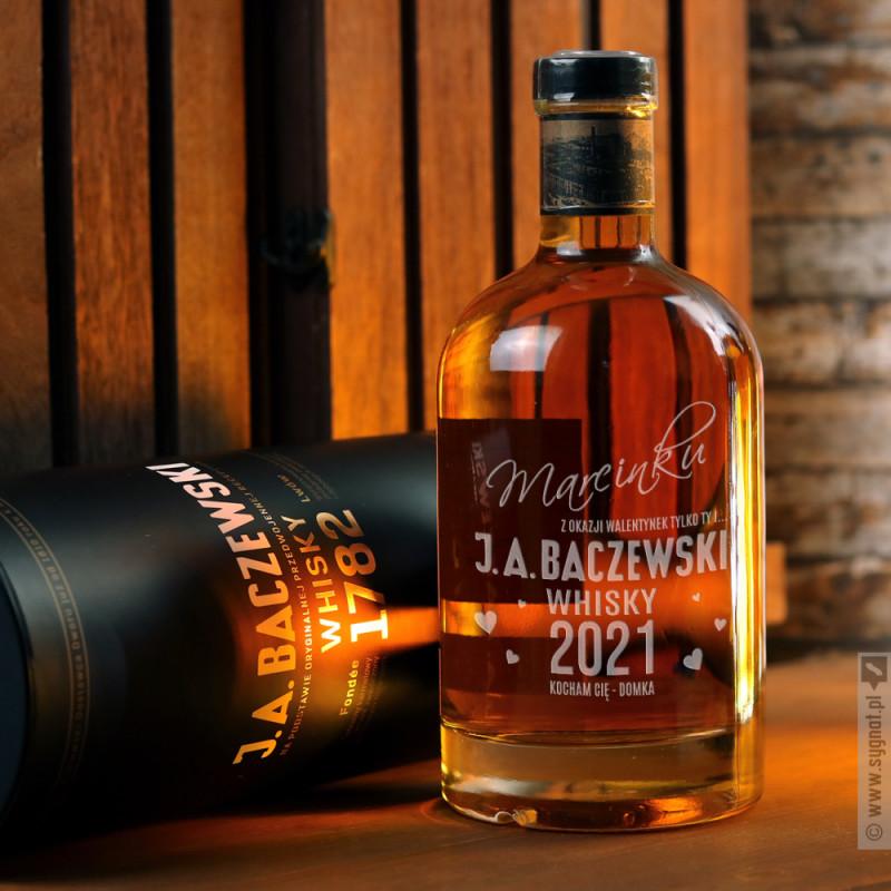 Zdjęcie produktu Ty i J.A. Baczewski - grawerowana whisky z personalizacją dla ukochanej osoby