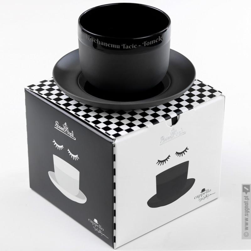 Zdjęcie produktu Melonik - grawerowana filiżanka porcelanowa Rosenthal z personalizacją