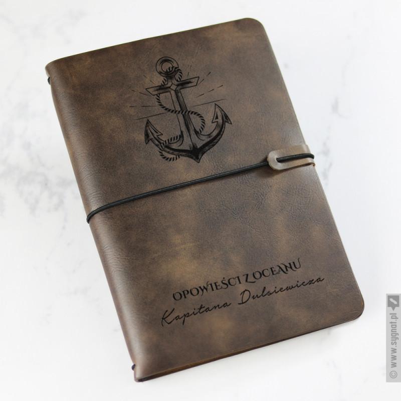 Zdjęcie produktu Opowieści z Oceanu - grawerowany notatnik z personalizacją