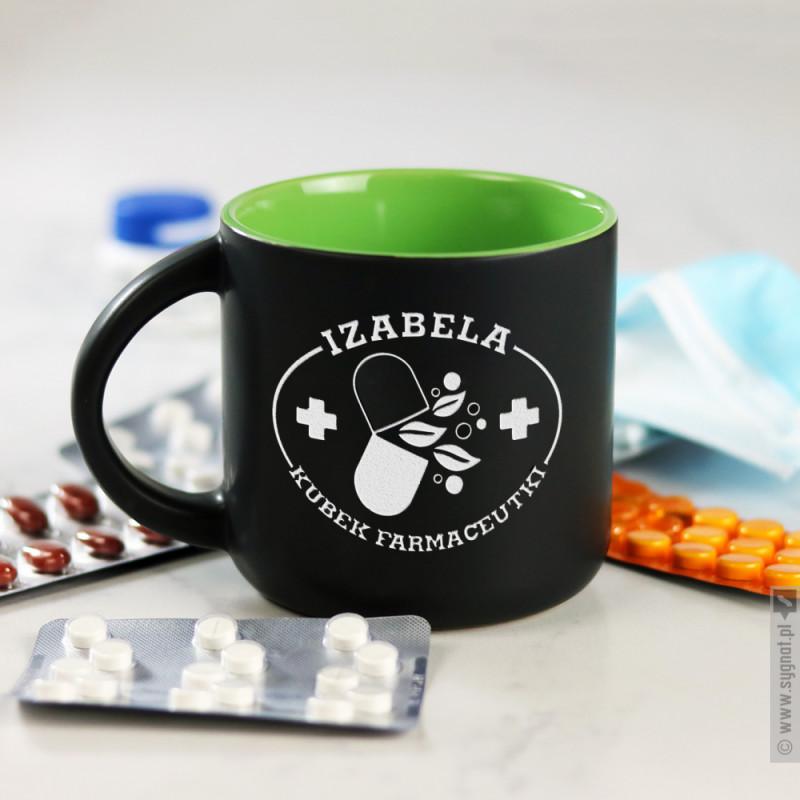 Zdjęcie produktu Kubek Farmaceutki - grawerowany kubek z personalizacją