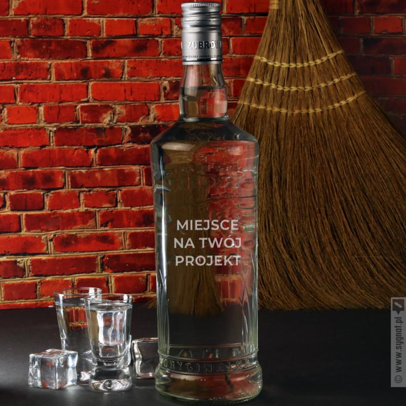Zdjęcie produktu Wódka Żubrówka z własną personalizacją