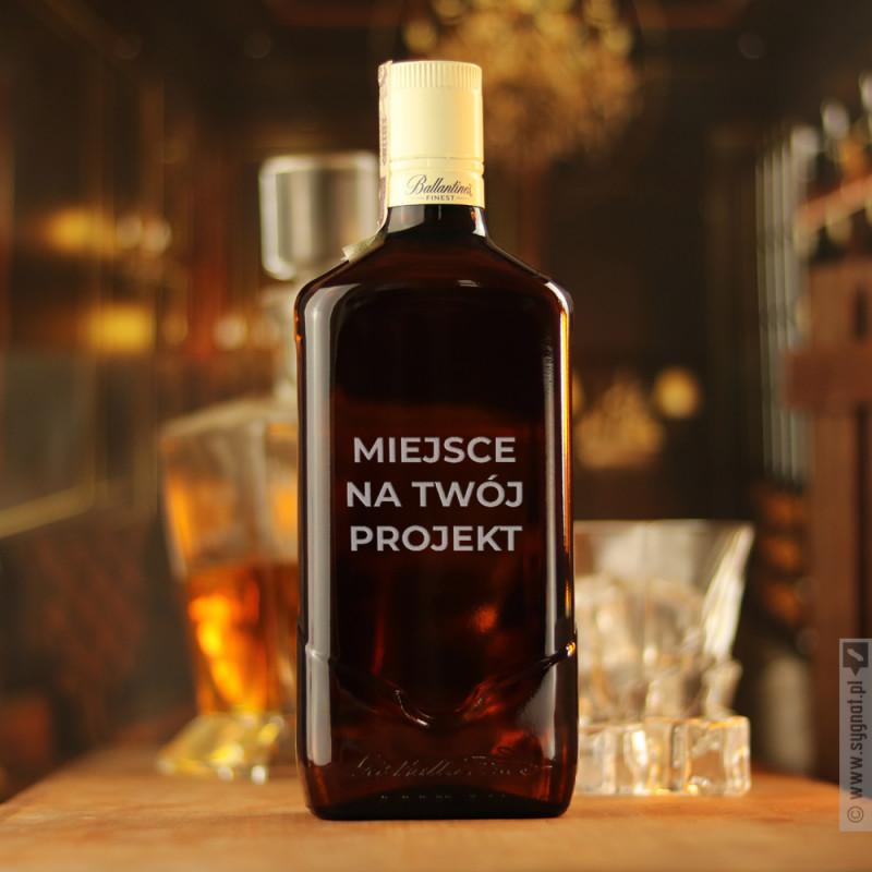 Zdjęcie produktu Whisky Ballantine's z własną personalizacją
