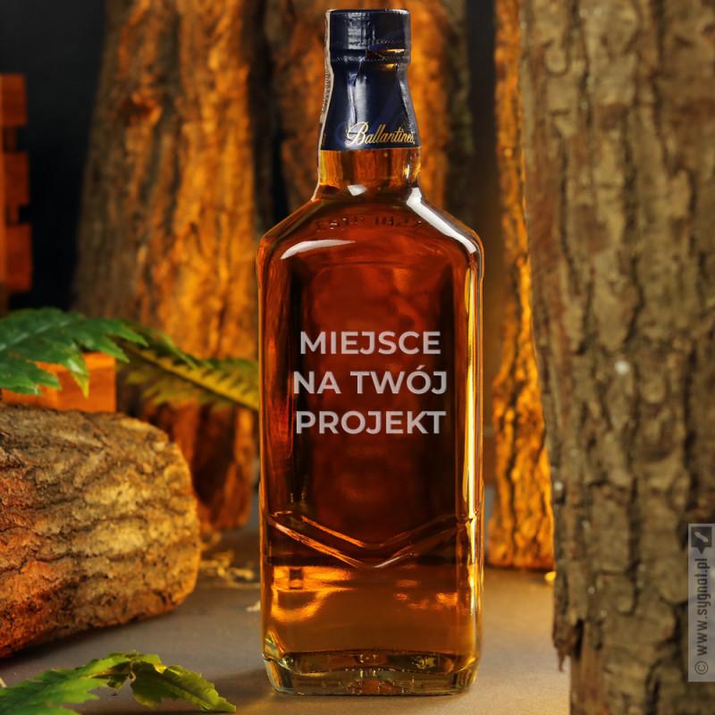 Zdjęcie produktu Whisky Ballantine's 12 YO z własną personalizacją