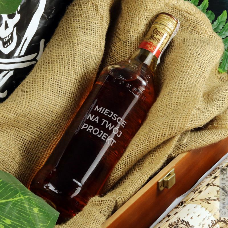 Zdjęcie produktu Rum Kapitan Morgan z własną personalizacją