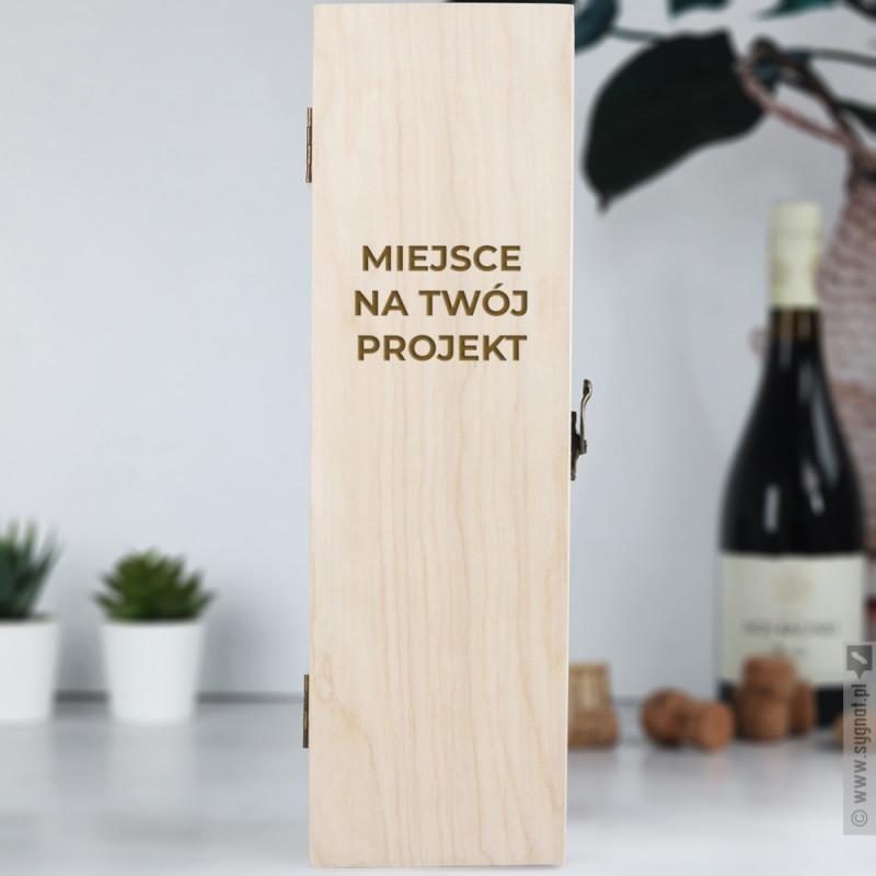 Zdjęcie produktu Jednorzędowa skrzynka z własną personalizacją