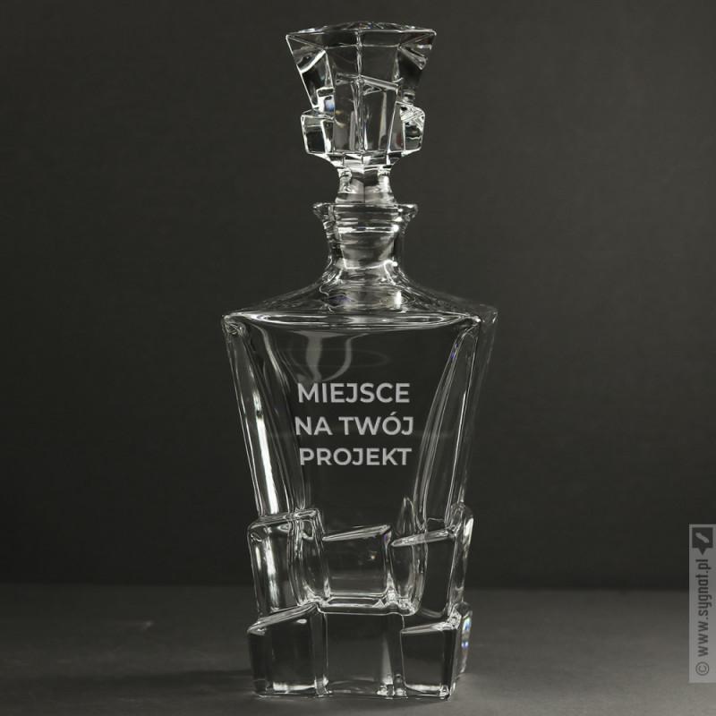 Zdjęcie produktu Karafka do whisky z własną personalizacją