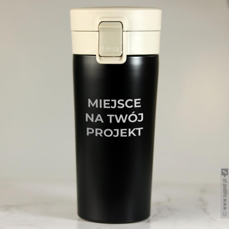 Zdjęcie produktu Grawerowany kubek termiczny 350ml z własną personalizacją