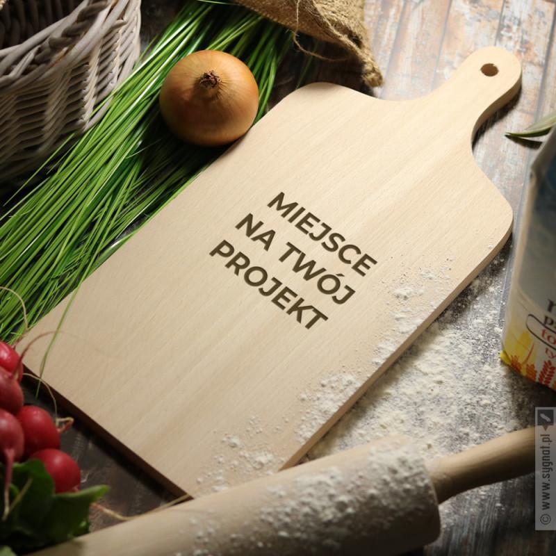 Zdjęcie produktu Grawerowana deska do krojenia prostokątna z własną personalizacją