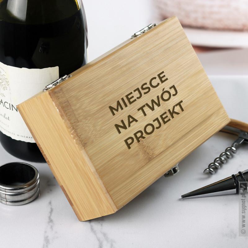 Zdjęcie produktu Zestaw do wina z własną personalizacją